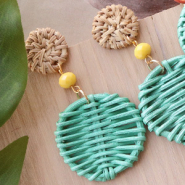 NEW NEW! Rattan pendants in cheerful colours
