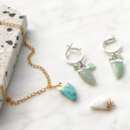NEW New natural stone pendants