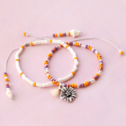 Inspirational Sets Earrings and bracelets with popular Miyuki beads