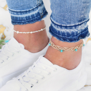 Inspirational Sets DIY: anklets for summer