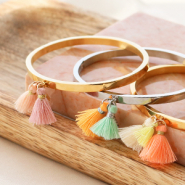 NEW New! Tassels in summery colours