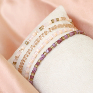 Inspirational Sets Make shiney bracelets with these top faceted cube beads