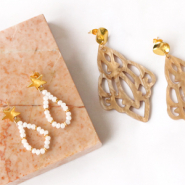NEW New series Brass TQ metal earring findings