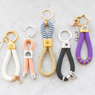 NEW New collection: DQ European keychains with maritime cord