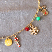 NEW New collection Christmas charms & scrunchies