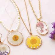 NEW New in the collection! Dried flower charms