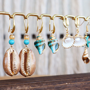 NEW SHOP NOW: trendy shell charms