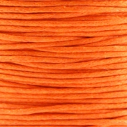 Waxed cord 1.0mm Orange