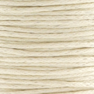 Waxed cord 1.0mm Beige
