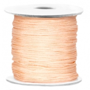 Macramé bead cord Light peach