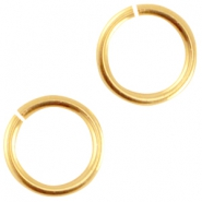 DQ metal jumpring 5.0mm Gold (nickel free)