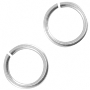 DQ metal jump ring 5.0mm Antique silver (nickel free)