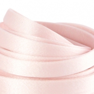 Flat DQ silk cord 10mm Light rose