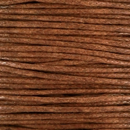 Waxed cord 1.0mm Brown
