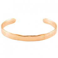 DQ metal bracelet Rose gold (nickel free)