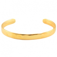 DQ metal bracelet Gold (nickel free)