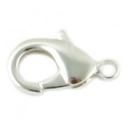 12mm DQ lobster clasp Silver