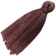 Large tassels Dark brown