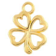 DQ metal clover four charm Gold (nickel free)