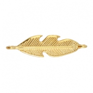 DQ metal feather connector Gold (nickel free)