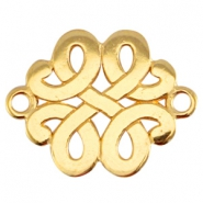 DQ metal Baroque connector Gold (nickel free)