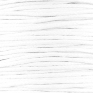 Waxed cord 1.5mm White