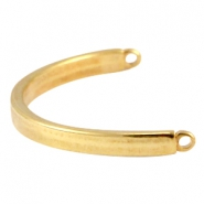 DQ metal bracelet connector Gold (nickel free)