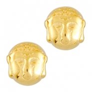 DQ metal Buddha bead Gold (nickel free)