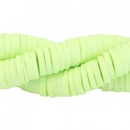 3mm Katsuki beads Pastel lime green