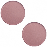 7mm flat Super Polaris cabochon Bridal rose