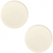 12mm flat Super Polaris cabochon Silk beige