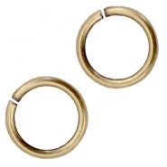 DQ metal jump ring 7.5mm Antique bronze (nickel free)