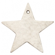 DQ star leather charms  Country grey