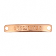 Charms connector bar DQ metal Revolution Rose gold (nickel free)