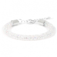 Crystal diamond bracelets 7mm Crystal aurore boreale