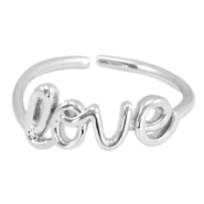 """Love"" must-have ring Silver"