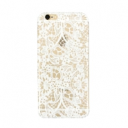 Telephonecase lace for Iphone 7 Transparent - white