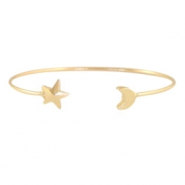 Bracelets moon + star Gold