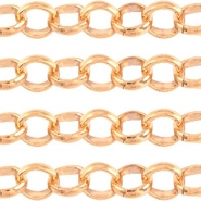 Designer Quality belcher chain 3mm Rose Gold