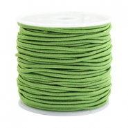Coloured elastic cord 1.5mm Jasmine green