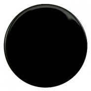 35mm flat cabochon Polaris Elements pearl shine Black