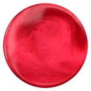 35mm flat cabochon Polaris Elements pearl shine Jester red