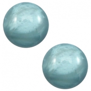 20mm classic cabochon Polaris Elements pearl shine Dark sea blue