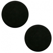 7mm flat cabochon Polaris Elements matt Black