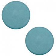 20mm flat cabochon Polaris Elements matt Dark sea blue