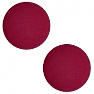 12mm flat cabochon Polaris Elements matt Velvet purple