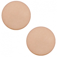 20mm flat cabochon Polaris Elements matt Hazel brown