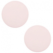 20mm flat cabochon Polaris Elements matt Tea rose pink