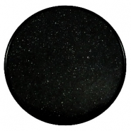 35mm flat cabochon Super Polaris Black