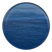 35mm flat cabochon Super Polaris Night blue